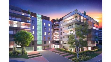 Appartement neuf Les Aquarelles Bâtiment a investissement loi Pinel à Annecy