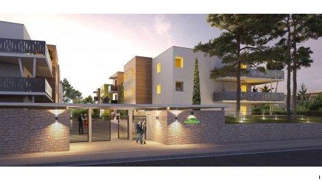 Appartement neuf Le Domaine des Pins investissement loi Pinel à Villeneuve-les-Maguelone