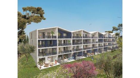 Appartement neuf Résidence Valdena à Marseille 13ème