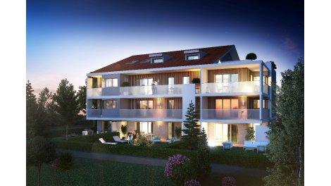 Appartement neuf Villa Indigo éco-habitat à Epagny