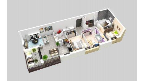 logement neuf à Cruseilles
