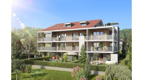 Appartement neuf Villa Indigo investissement loi Pinel à Epagny
