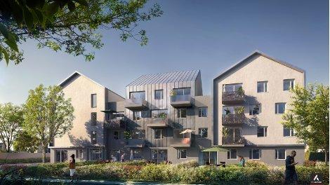 Appartement neuf Villa Athena investissement loi Pinel à Dijon