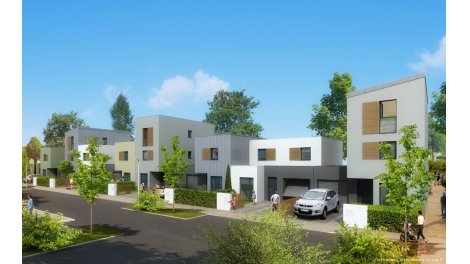 Maisons neuves Urbanessence éco-habitat à Bretteville-sur-Odon
