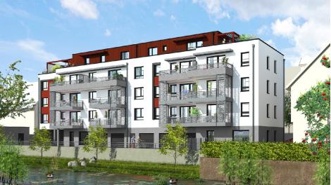 Appartements neufs Le Quatorze investissement loi Pinel à Colmar