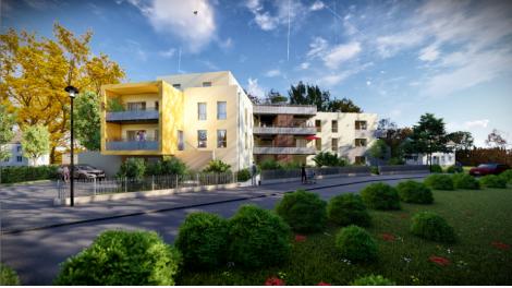 Appartement neuf L'Origami investissement loi Pinel à Colmar