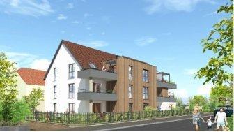 Appartements neufs L'Esquisse investissement loi Pinel à Wettolsheim