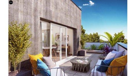 Appartement neuf Les Reflets du Parc investissement loi Pinel à Bois-Guillaume-Bihorel
