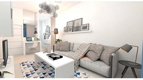 Appartements et maisons neuves L'Échappée éco-habitat à Le Pré-Saint-Gervais
