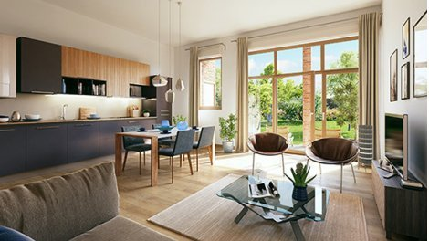 Appartement neuf Marquillies investissement loi Pinel à Lille