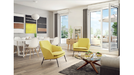 Appartement neuf Lumin&sens investissement loi Pinel à Neuilly-Plaisance