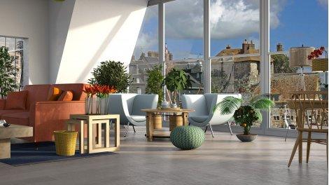 Appartement neuf Croix Salvador éco-habitat à Toulouse
