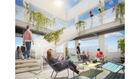 Appartement neuf Charlotte d'Elbo éco-habitat à Villeurbanne