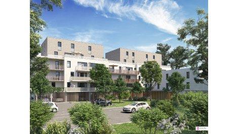 Appartement neuf Au Fil de l'Eau éco-habitat à Nancy