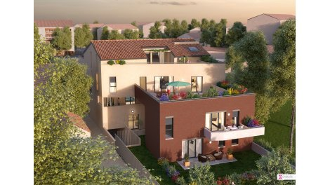 Appartement neuf Le Carmin éco-habitat à Blagnac