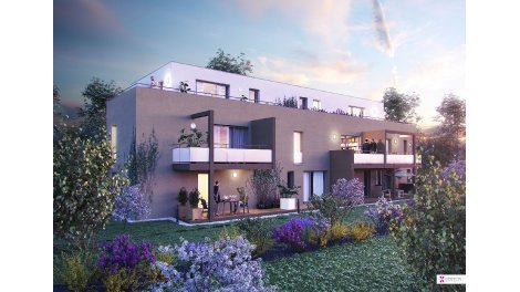 Appartement neuf Terrasses Elysée investissement loi Pinel à Brumath