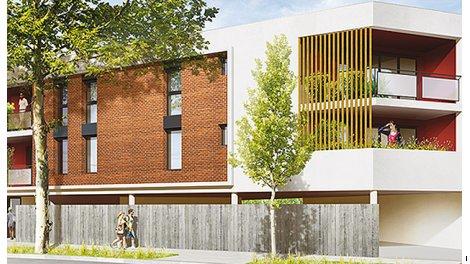 Appartement neuf Coeur de Ville éco-habitat à Colomiers