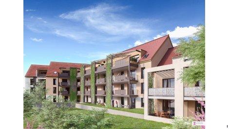 Appartement neuf La Tour des Chevaliers investissement loi Pinel à Haguenau
