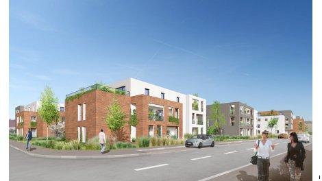 Appartement neuf Le Domaine de l'Empereur investissement loi Pinel à Haguenau