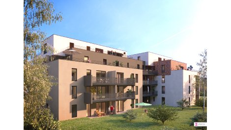 Appartement neuf L'Alpha investissement loi Pinel à Illkirch-Graffenstaden