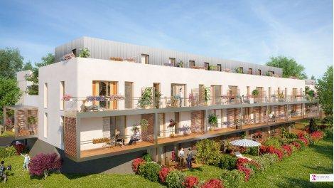 Appartements neufs Villa Volta investissement loi Pinel à Schiltigheim