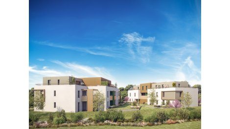 Appartements neufs Le Clos des Cerisiers investissement loi Pinel à Strasbourg
