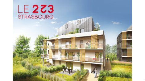 Appartement neuf Le 223 investissement loi Pinel à Strasbourg
