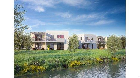 Appartements neufs Le Canotier investissement loi Pinel à Strasbourg