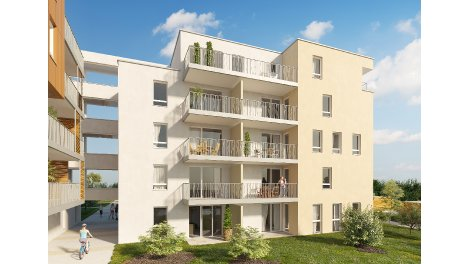 Appartement neuf Beaurivage investissement loi Pinel à Strasbourg