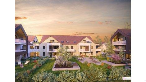 Appartement neuf Vert Lumière investissement loi Pinel à Vert-Saint-Denis