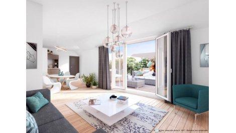 Appartement neuf Les Miroirs éco-habitat à Viroflay