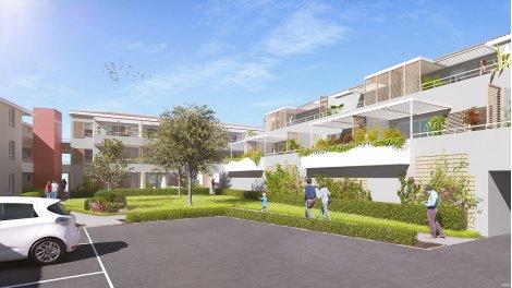Appartements et maisons neuves Résidence le Clos des Verdiers éco-habitat à Loupian