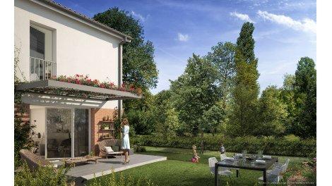 Villas neuves Residence Cote Nature éco-habitat à Aucamville