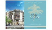 Appartements neufs Cosy-Corner investissement loi Pinel à Antibes