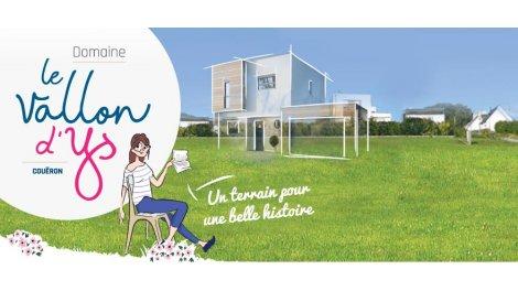 """Terrain constructible du mois """"Domaine Vallon d'ys"""" - Couëron"""