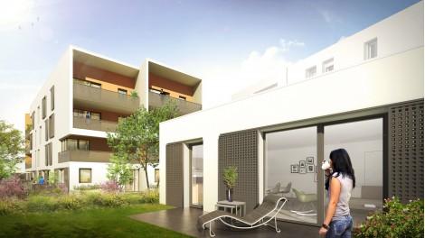 Appartement neuf Coeur d'Ambre éco-habitat à Meyzieu