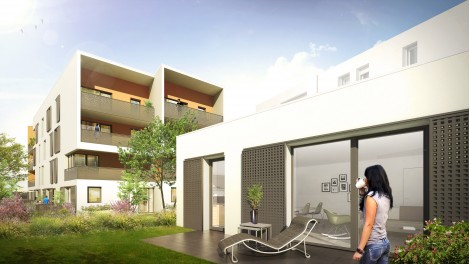 Appartement neuf Coeur d'Ambre à Meyzieu