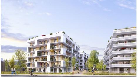 Appartement neuf Novallende éco-habitat à Saint-Herblain