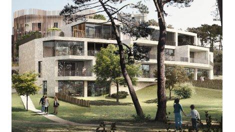 Appartements neufs Canopée Bagatelle investissement loi Pinel à Saint-Herblain
