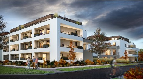 Appartements neufs Evasio investissement loi Pinel à Gambsheim