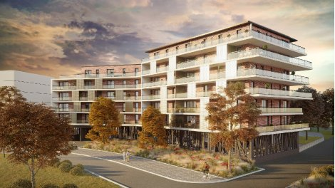 Appartement neuf Néris investissement loi Pinel à Illkirch-Graffenstaden