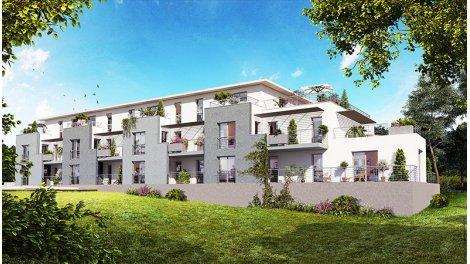 Appartement neuf L'Échappée investissement loi Pinel à Tours