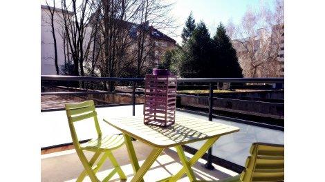 Appartement neuf Beauregard investissement loi Pinel à Besançon