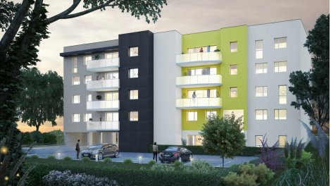 Appartement neuf Résidence Nalanda investissement loi Pinel à Besançon