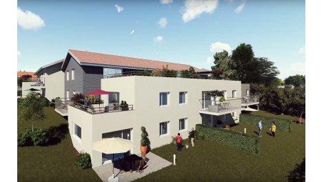 eco habitat neuf à Serre-les-Sapins