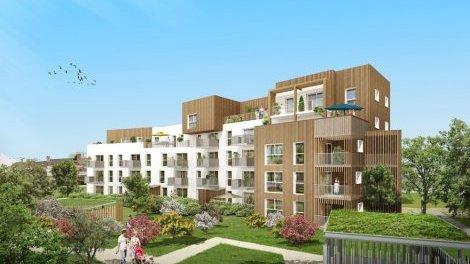 Appartement neuf Wood Park investissement loi Pinel à Rennes
