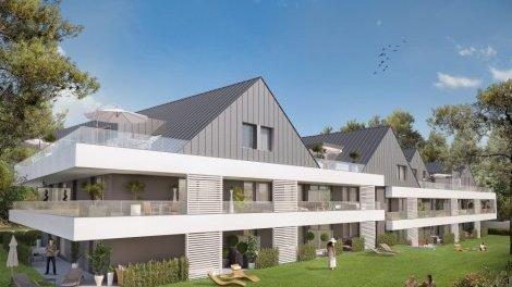 Appartement neuf Villa Kernevel éco-habitat à Larmor-Plage