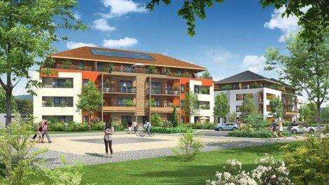 Appartement neuf Les Moulins Gaud II investissement loi Pinel à Ville-la-Grand