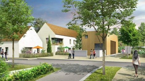 Appartement neuf Coeur de Village éco-habitat à Saint-Leger-sur-Dheune