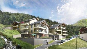 Appartements neufs La Vallée Haute éco-habitat à La Forclaz